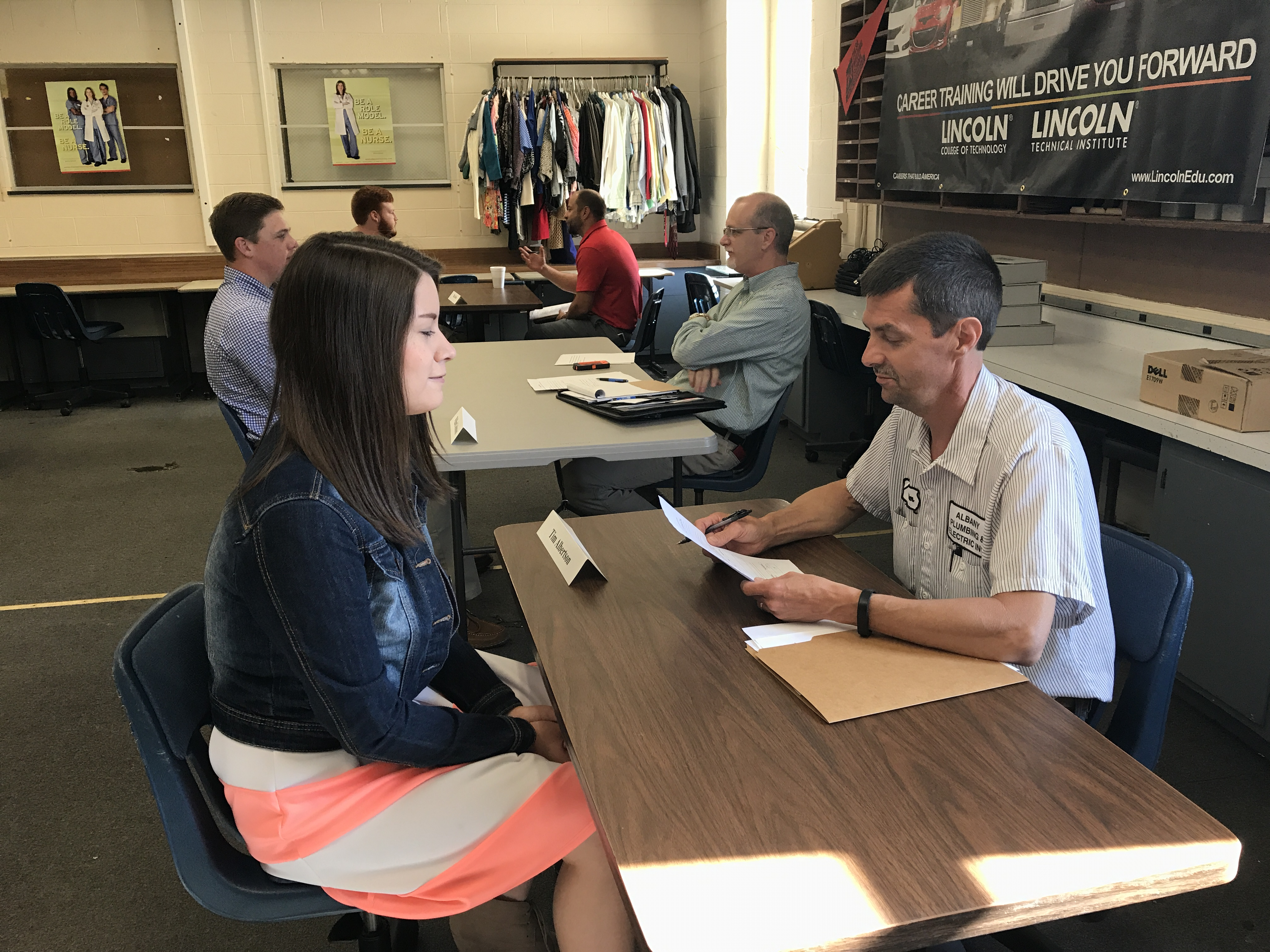 CCHS junior students who have taken classes this year at CCATC participated in mock interviews on Monday, May 15th.