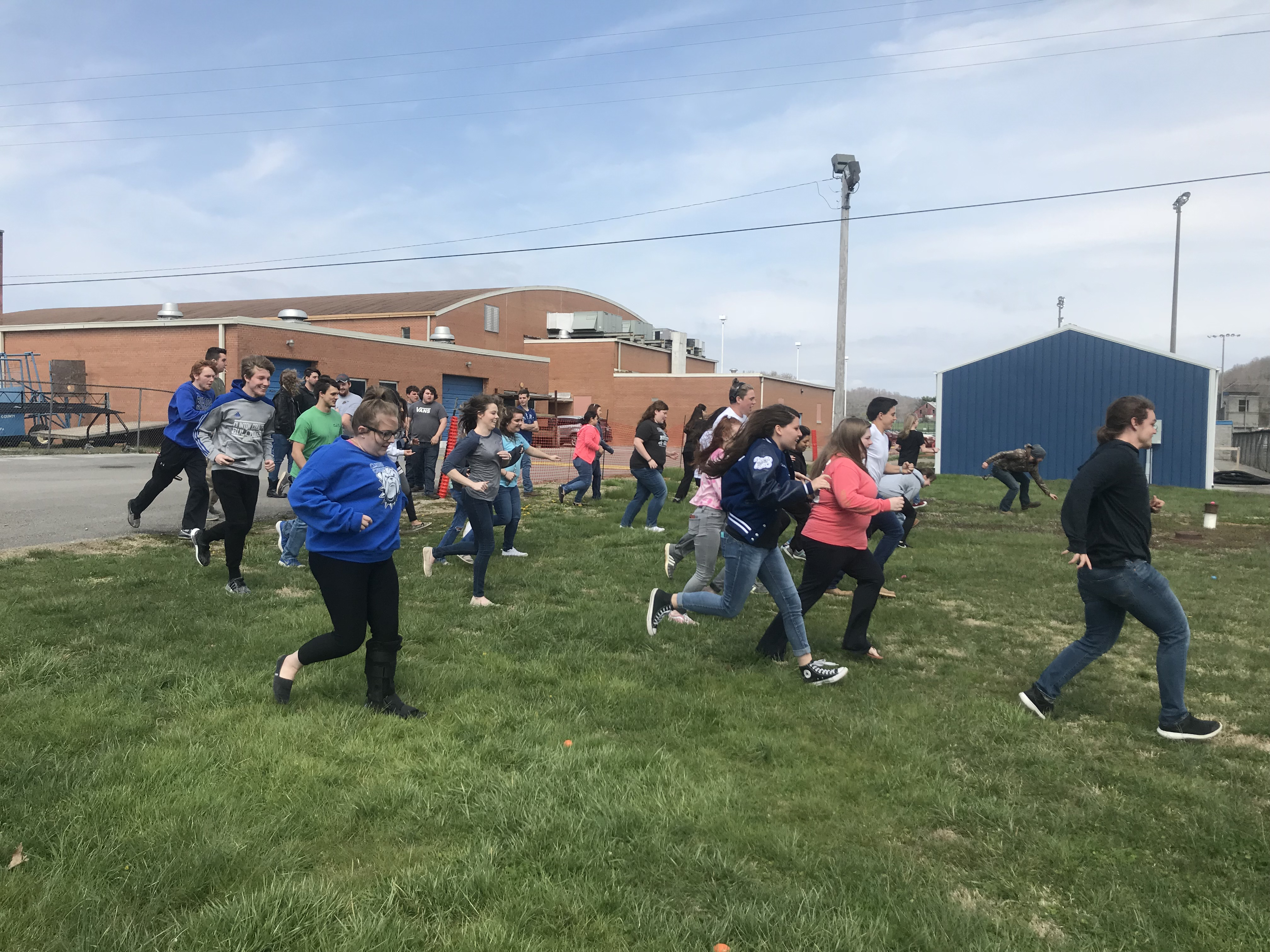Clinton County High School students who are College and Career Ready were rewarded with an Easter luncheon and Egg Hunt on March 27th.