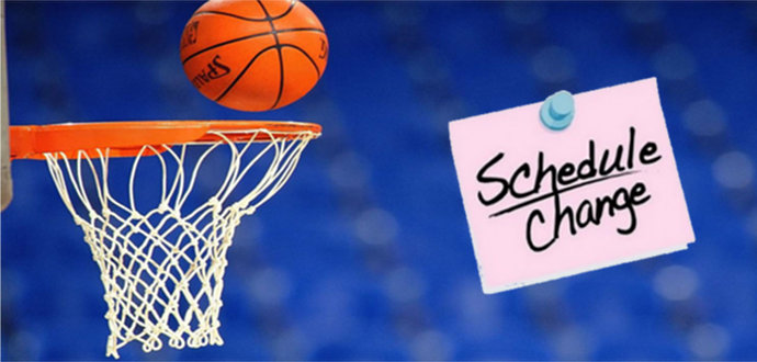The girls & boys varsity basketball games against Russell County scheduled for Friday will be played at CCHS on THURSDAY, January 11th at 6:00 pm & 7:30 pm.