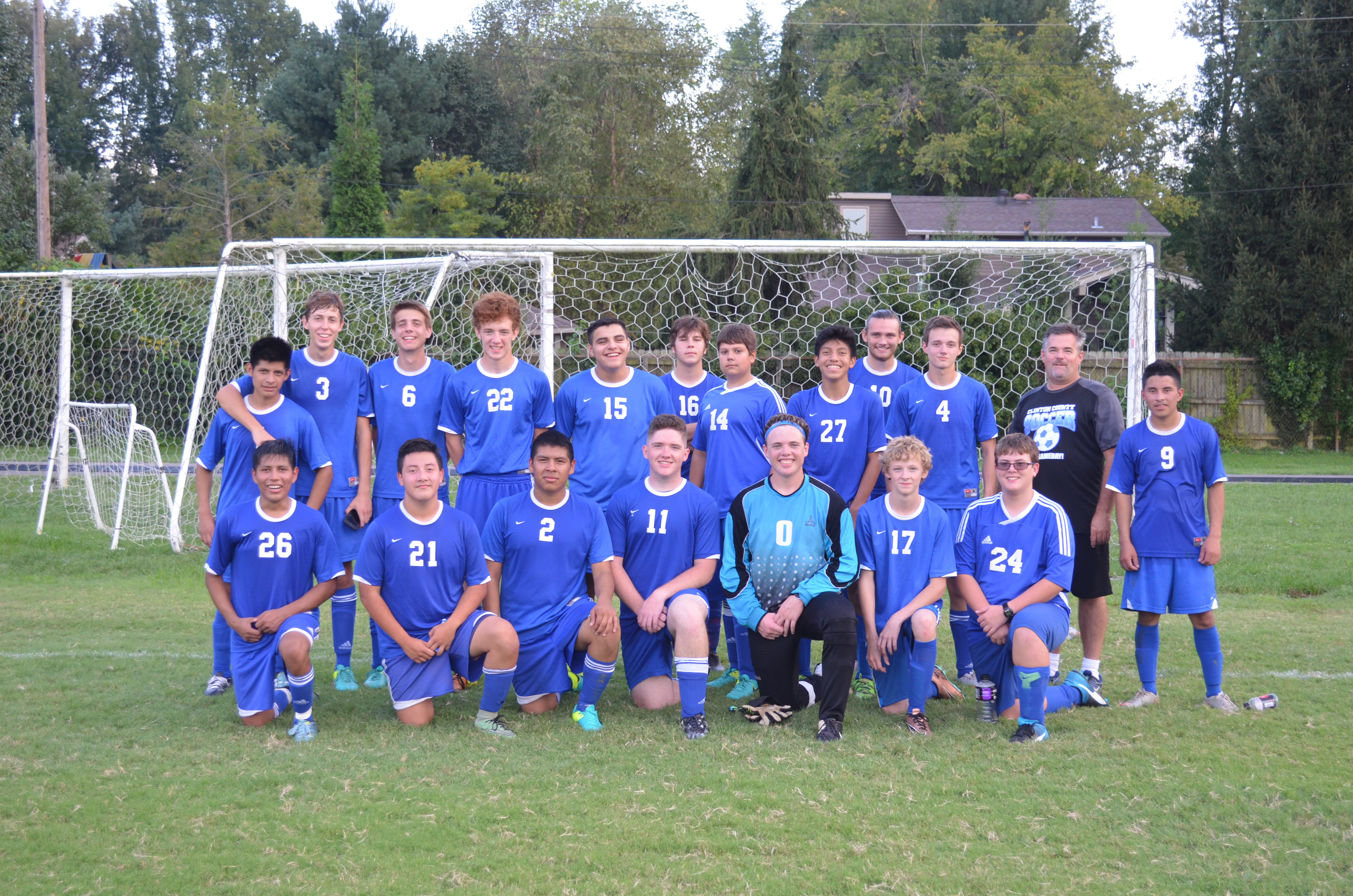 The Clinton County High School Boys Varsity Soccer Team defeated Owensboro Catholic 2-0 in the state sectional on Saturday, September 17th to advance to the state tournament.