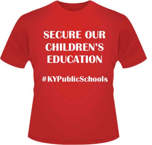 Secure our children 39 s education clinton county high school for T shirt design for education