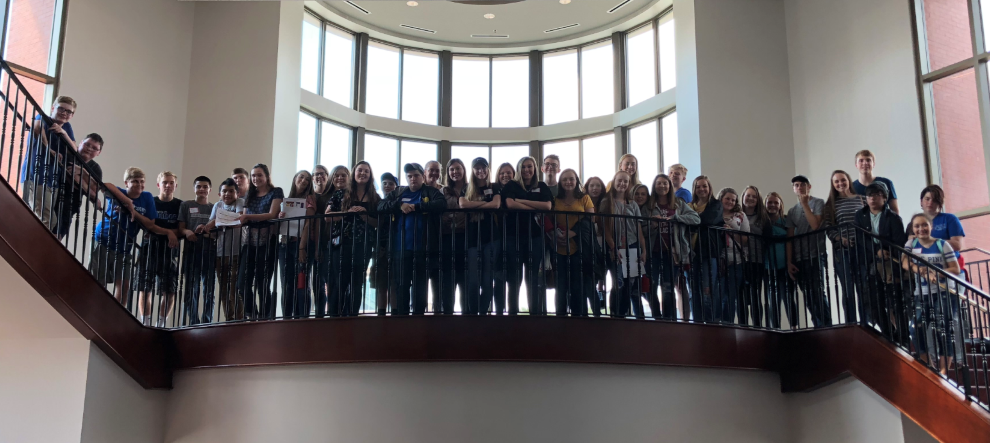 On Friday, September 21st, thirty-seven students from Clinton County High School participated in this High School Leadership Conference at Western Kentucky University.